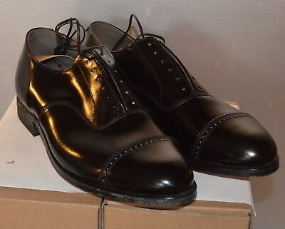 Vintage M.T. Shaw  Black oxford size 8EEE NOS (new old stock) never worn