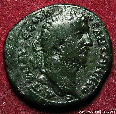 Caracalla AE25 of Odessos, Thrace, rev. Great God of Odessos, 198-217AD