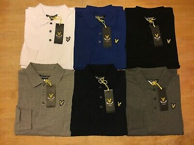 Lyle and Scott Men's Long Sleeve Polo All Size's !
