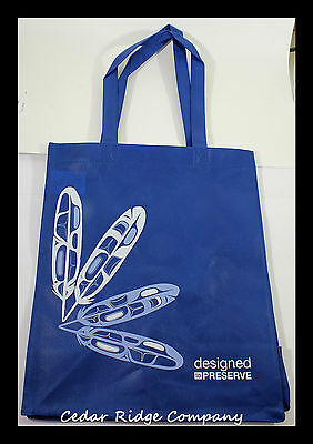 Pacific North West Coast Native Tote Bag - Eagle Feathers Shopping American
