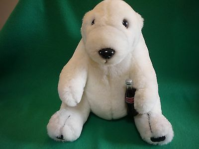 Coca-Cola Plush Toy, Stuffed Bear, ages 4 and up