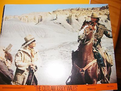Clint Eastwood - The Outlaw Josey Wales - Original Colour 10x8 inch Lobby Card