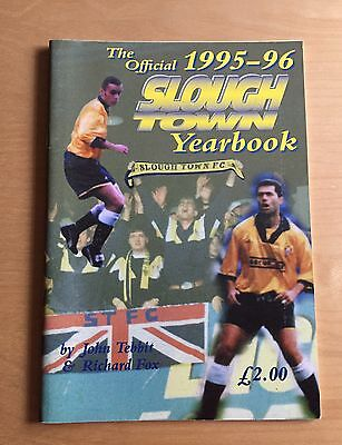 SLOUGH TOWN Yearbook 1995/1996