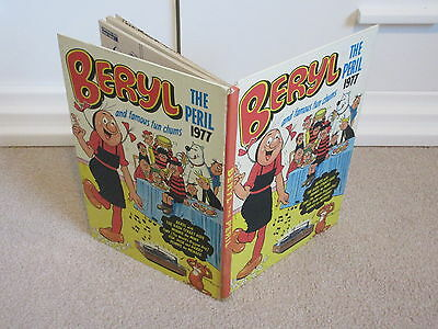 Beryl The Peril Book/annual-1977-/dandy/beano-