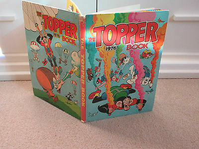 The Topper Book, 1976-Unclipped-Gc-Like Beano/dandy-
