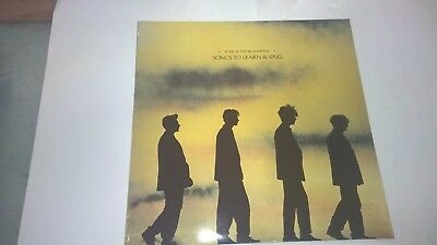 ECHO & THE BUNNYMEN - Songs To Learn And Sing - IRISH PRESSING LP IRELAND