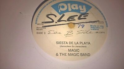 "MAGIC & THE MAGIC BAND - Siesta De La Playa - IRISH POP SHOWBAND 7"" 1979 DISCO"