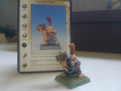 Confrontation-Dwarf-Pillgrim The One Eyed-Boor Champion-Painted-Rackham