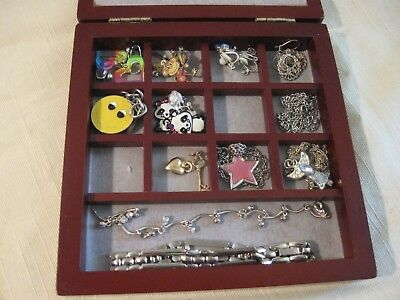 Jewellery Box Filled With Girls Earrings Necklaces Etc.