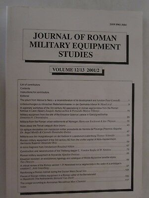 Journal of Roman Military Equipment Studies - Volume 12/13 2001/2