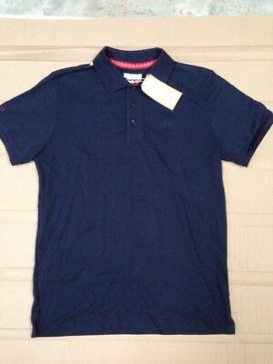 Townend Men's Large Navy Polo Shirt Tshirt