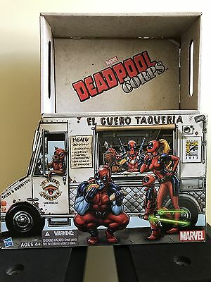 SDCC 2013 Exclusive Hasbro Marvel Universe DEADPOOL CORPS Taco Truck Box Only!!