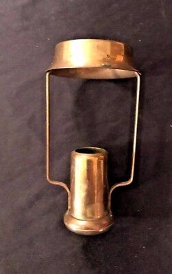 Antique Brass CANDLE LAMP SHADE HOLDER