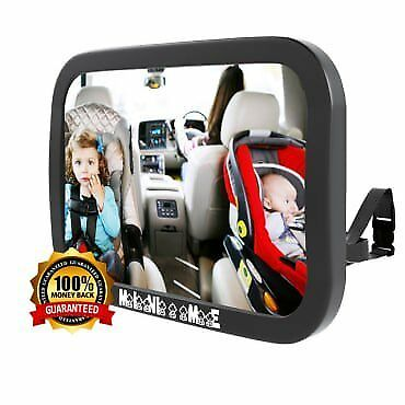 Baby Car Mirror | Back Seat Mirror For Baby | Rear Facing Car Seat | See Childre