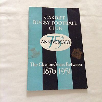 rugby union cardiff v lions to mark 75years of cardiff rugby club on 22 09 51