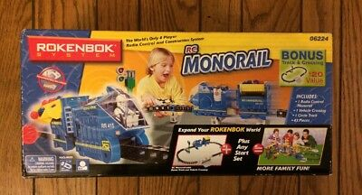 New Sealed Rokenbok RC System Monorail Expansion Set 06224 Building Set Rare NIB