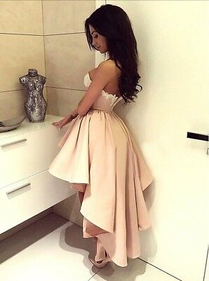 Lace Dress Trumpet Mermaid Sweetheart Pink Stretch Satin Appliques