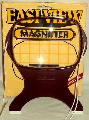 Coil Easy-View Round The Neck Magnifier Original Box 5820 Made in England