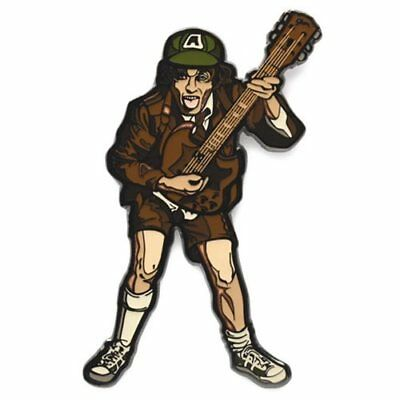 New FiGPin * AC/DC Angus Young * AC / DC High Voltage Enameled Pin Rock Band
