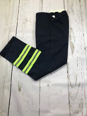 Reflective Hi Vis Navy Blue  Pants Industrial Work Uniform ReedFlex® Men's