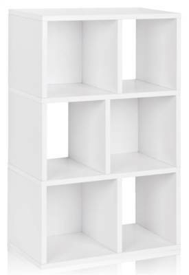 Eco Friendly Laguna Bookcase in White [ID 1653732]