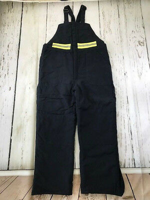 Bulwark FR Reflective Deluxe Insulated Bib Overall Nomex® IIIA Navy Blue BNN2NV