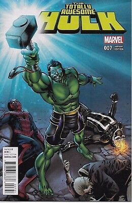 Totally Awesome Hulk #7 (August 2016, Marvel)