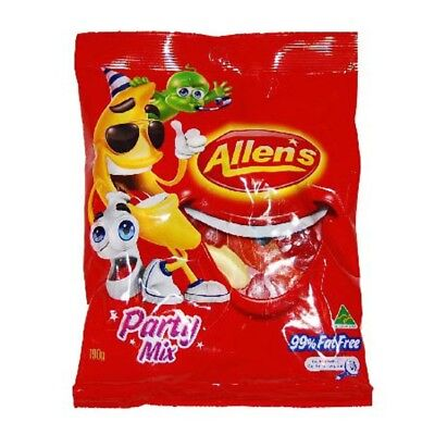 New Conf Allens Party Mix H/pack 190Gm(Bx12)