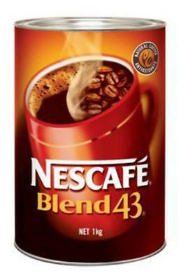 New Coffee Nescafe Blend 43 Can 1Kg(Each)