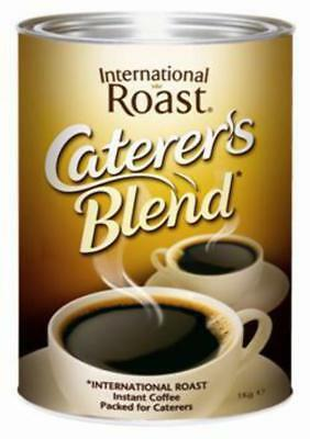 New Coffee International Roast Caterers Blend Can 1Kg(Each)