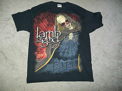 LAMB OF GOD Walk With Me in Hell Shirt sz L EXCELLENT CONDITION!