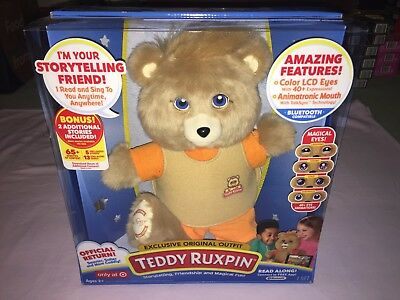TEDDY RUXPIN with EXCLUSIVE OUTFIT **NEW RELEASE**