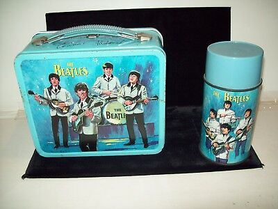 The Beatles Original 1965 Lunch Box With Thermos......Estate Sale Find......NICE