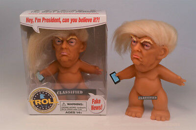 World's Greatest Trump Troll Doll Kickstarter by Chuck Williams President NEW