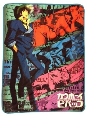 Cowboy Bebop Spike Sublimation soft warm group Throw Blanket new AUTHENTIC NEW