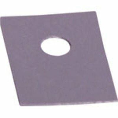 Adhesive Silicon Rubber TO126 Insulation Pad Pk 100