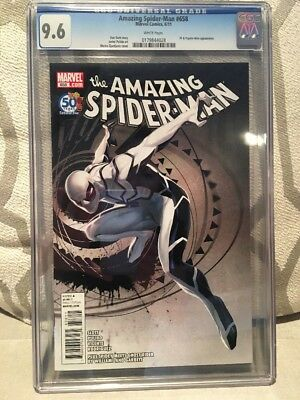 Amazing Spider man 658 cgc 9.6  white pages 1st Appear. of Psycoman