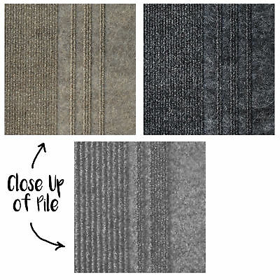 Essence Hardwearing Ribbed Poly Indoor Rug Runner - 3 Colours - 66x180cm **NEW**