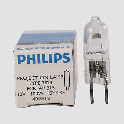 Philips 7023 FCR 12V100W GY6.35 Halogen lamp  / microscope / projector bulb