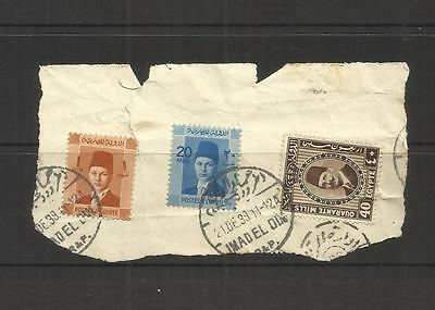 Royal Egypt ~ Small Early Collection (Postally Used)