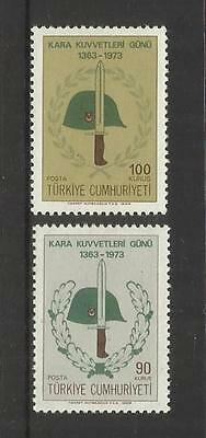 Turkey Turkiye ~ 1973 Land Forces Day (Mint Mnh)