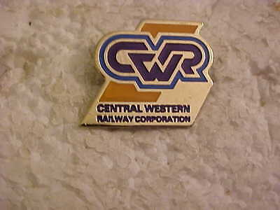 Central Western Railway Corporation Lapel Pin