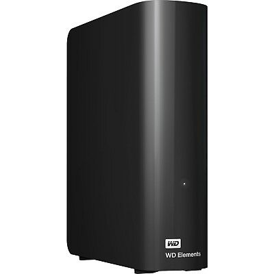 "Western Digital WD Elements 4TB 3.5"" USB 3.0 Desktop External Hard Drive HDD"