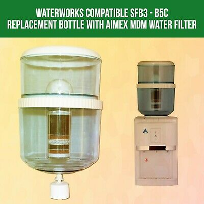 Waterworks Compatible SFB3 - B5C Replacement Bottle with Awesome water filter