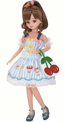 """Takara Licca Chan 9"""" Doll Blythe LD-06 Fruit Parlor Body w/ Outfit (without Box)"""
