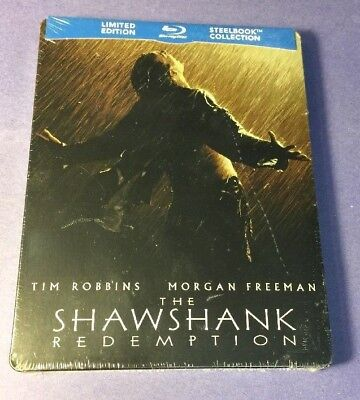 The Shawshank Redemption [ Limited STEELBOOK Edition ] (Blu-ray Disc) NEW