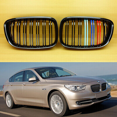 M-Color For Bmw F07 5-Series Gt Gran Turism M Type Gloss Black Front Grill