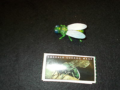 Yowies series 1  EMERALD CUCKOO WASP