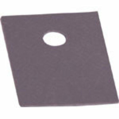 Silicon Rubber TO-220 Insulation Pad Pk 100