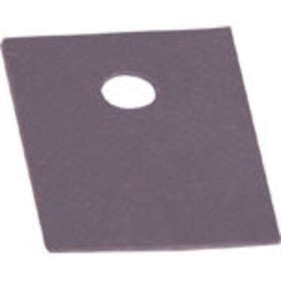 Adhesive Silicon Rubber TO220 Insulation Pad Pk 100